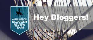 Blogger Review Program
