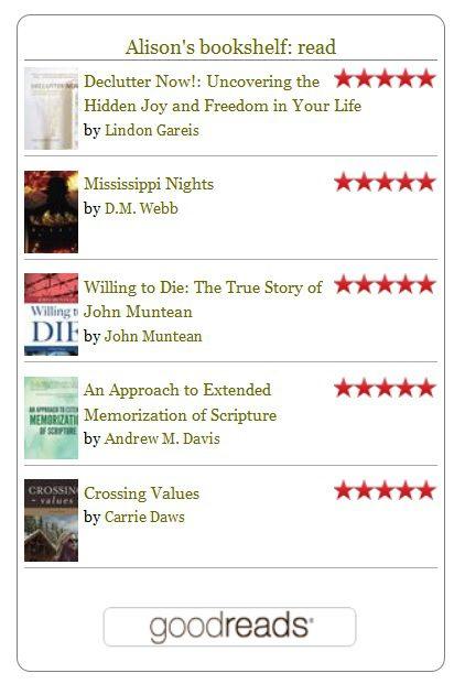 goodreads widget