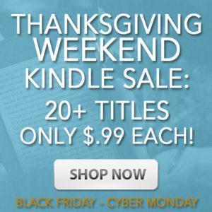 Thanksgiving Weekend Kindle Deals