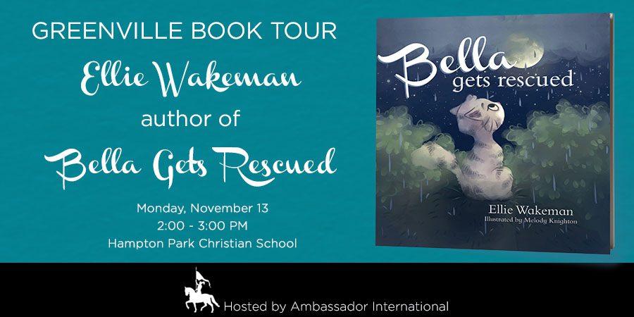 Bella Gets Rescued Book Tour